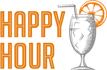 Happy hour orange